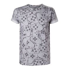 Playstation PlayStation Controller T-Shirt weiß/grau M