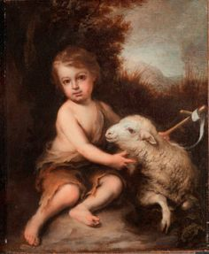 @ The Detroit Institute of Arts | The Infant Saint John the Baptist in the Wilderness - Bartolomé Esteban Murillo was the first internationally known Spanish artist and this Infant Saint John is one of the earliest to enter a U. S. collection, that of Alfred G. and Matilda Dodge Wilson in 1926.