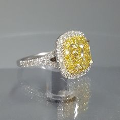 Your wedding jewelry is jewelry that you will wear on your wedding day. You might have gotten an idea of what you wanted when you chose your engagement jewelry Yellow Diamond Engagement Ring, Yellow Diamond Rings, Engagement Rings Cushion, Halo Diamond, Canary Yellow Diamonds, Canary Diamond, Colored Diamonds, Bridesmaid Jewelry, Wedding Jewelry