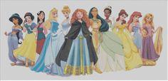 Disney Princess Cross Stitch KIT