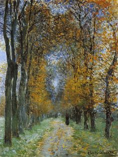 The Avenue by Monet