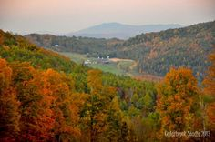 Fall in Northern Vermont