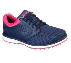 Check out what Loris Golf Shoppe has for your days on and off the golf course! Skechers Ladies GoGolf Elite V.3 Golf Shoes - GRAND (Navy/Pink)