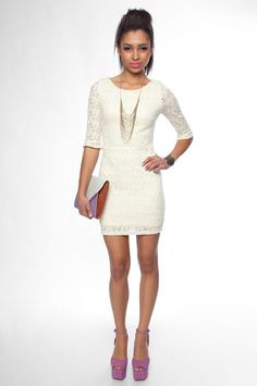BLVD Make it Lace Forever Dress - $40
