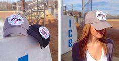 "Spring is finally here which means baseball season will be in full swing before you know it! And what better way to sing along to ""Take Me Out to the Ballpark"" than in our super fun and adorable personalized ball caps! Show your favorite little leaguer some extra love by sporting your custom ball cap! Perfect for every member of the family! Our super comfy 6 panel, non-structured caps feature an adjustable back and buckle closure. Available in 19 great colors and the following…"