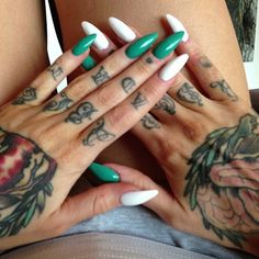 Seriously love knuckle tats sooo gangster