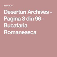 Deserturi Archives - Pagina 3 din 96 - Bucataria Romaneasca
