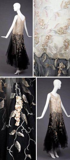 Evening dress - 1928-30