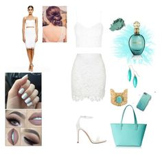 """""""Untitled #32"""" by lejlaaganovic ❤ liked on Polyvore featuring Belleza, Zara, Topshop, Alexis Bittar, Roberto Cavalli, Kate Spade, BeautyTrend, summerstyle y whitebeauty"""
