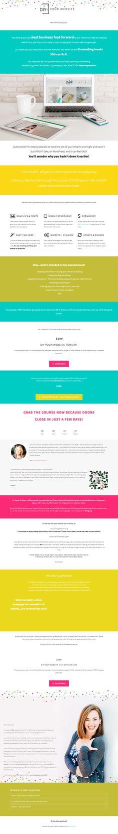 Marie forleos b school sales page tbo interactive pinterest website designs web design landing design web design websites site design fandeluxe Image collections