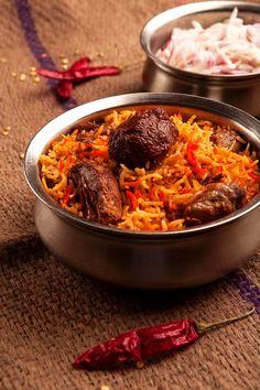 Mutton biriyani. Order now: Dial : 4007 4007 or visit http://www.aasifebiriyani.com/