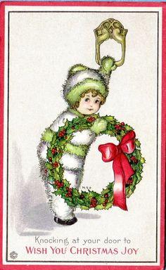 Margaret Evans Price Christmas postcard   eBay
