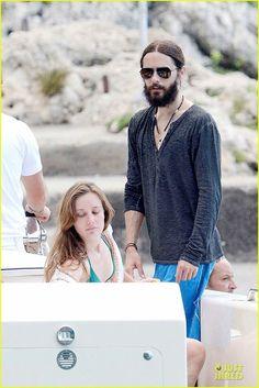Jared and Emma - Capri Italy - 28 July 2014 - Source http://www.justjared.com