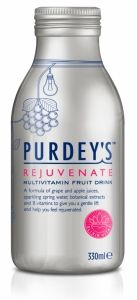 Blue Marlin Revitalizes Purdey's Classic Wellbeing Drink | Package Design