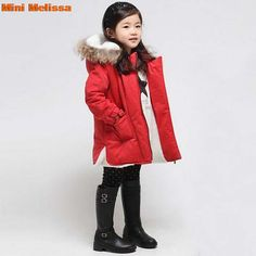 Aliexpress.com : Buy mini melissa winter children down faux fur collar solid zipper pocket children clothing Christmas costumes for boys girls jacket from Reliable clothing mesh suppliers on Top Fashion Dress  | Alibaba Group