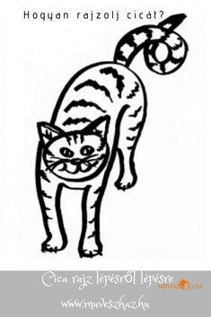 Cica rajz - Hogyan rajzolj cicát, lépésről lépésre!  Olvass tovább: Darth Vader, Fictional Characters, Fantasy Characters