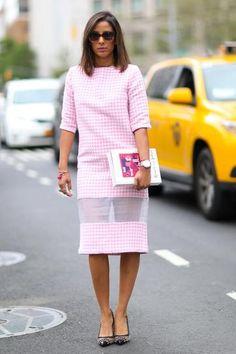 when pastel pink is super-chic.