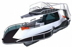 The Pontoon Solar-Powered Boat combines luxury with sustainability. But is it good enough to compete with other luxury yachts in the market? Deck Boat, Boat Dock, Pontoon Party, Party Barge, Cool Boats, Boat Stuff, Boat Design, Power Boats, Boats
