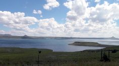 Sterkfontein Dam, taken from the viewpoint. Free State, South Africa, Mountains, Orange, Beach, Water, Travel, Outdoor, Gripe Water