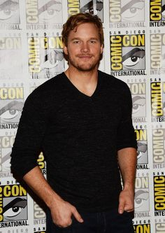 Chris Pratt. I always thought he was cute. Even during his chubbier days. lol. in parks and rec when he was running on the track and took off his clothes lolol... sexi