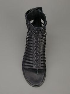 Haider Ackermann - multi strap sandal    cynthia reccord