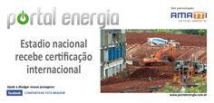 Estadio nacional recebe certificação internacional