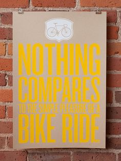 So true. Makes you feel like a kid. @Katie Bern - I think this would be awesomely simple for your office/bike room. :)
