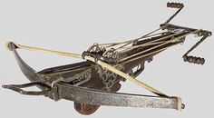 Ramblings and Ravings: Medieval Research: The Classy Crossbow