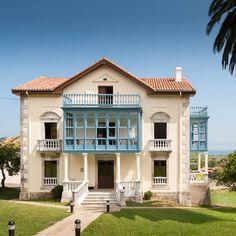 casona-de-verines-2e07da Castle House Plans, Villas, Indiana, Spanish Style Homes, European House, Good House, Travel Pictures, Beautiful Homes, The Good Place
