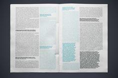 magazine layout design minimalist - Google Search