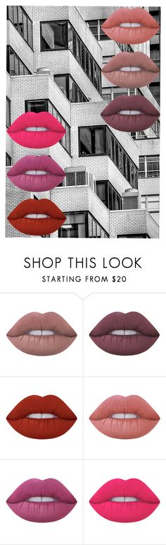 """""""City Kiss"""" by mydesignplace on Polyvore featuring beauty and Lime Crime"""