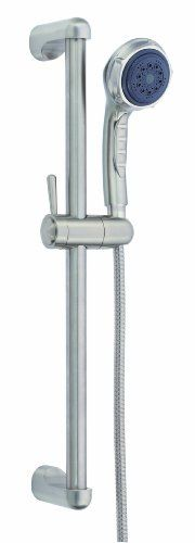 Danze D465005BN Three Function Hand Shower with 24Inch Slide Bar Brushed Nickel *** Click image to review more details.