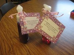 """Beginning of the year teacher gift...""""I am 'bubbling' over with excitement that you are my teacher!"""