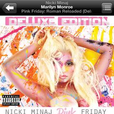 Pink Friday: Roman Reloaded! Must have for the summer!!! This album is so diverse and raw! Made me love Nicki even more! The track Marilyn Monroe was genius, such a beautiful voice :) #nickiminaj #pinkfridayromanreloaded #marilynmonroe #goodmusic