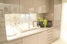 Construindo Minha Casa Clean: Decoração da Leitora - Sala e Cozinha! Inspire-se!