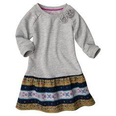 Genuine Kids from OshKosh Infant Toddler Girls' Dress - Heather Grey