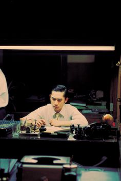 """Tony Leung in """"In the mood for love"""""""