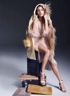 Photographer: Marcin Tyszka Styled by: Kerstin Schneider Hair: Lok Lau Makeup: Lucy Bridge Manicure: Michelle Humphrey Model: Arizona Muse