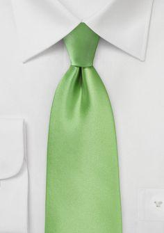 Modische Krawatte staubgrün Poly-Faser