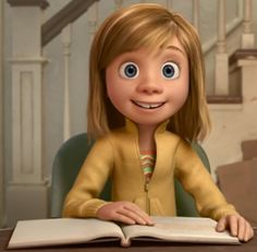Inside Out / Characters - TV Tropes Disney Pixar, Disney Cartoons, Inside Out Characters, Disney Characters, Inside Out Poster, Inside Out Riley, Joy And Sadness, Disney Movies To Watch, Tv Tropes