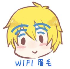"Wi-Fi xD can't stop laughing! ""Hey iggy, my wifi is down, can I use your eyebrows for a sec?"""