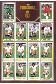R. Madrid campeón liga Nostalgia, Football Team, Milan, Soccer, Album, Cartoon, Baseball Cards, Humor, Retro