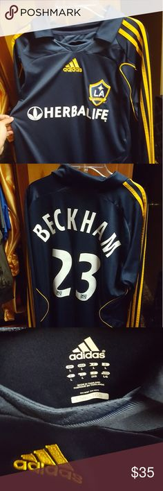 276a48461 ... soccer jersey  la galaxy away david beckham jersey