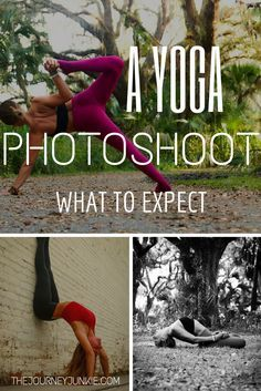 The perfect resource for taking yoga photos or preparing for a photoshoot!