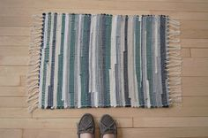 rag rug by dhearts, via Flickr