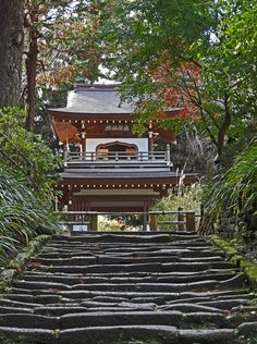 https://flic.kr/p/hX6qbF | Jochi-ji's Shōrōmon | Jochi-ji is a Rinzai Zen Buddhist temple and one of Kamakura's 5 famous temples. It was founded sometime between 1281 and 1283 by the  ruling Hōjō regents of the Kamakura shogunate.   Pictured here is Jochi-ji's Shōrōmon is a combination of a shōrō (bellfry) with a rōmon gate. If it looks like it is lacking some old charm, that's because it was restored in 2007. But the bell that sits up in the second floor dates back to 1340.