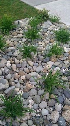 river rock flower beds replace front yard flower beds with river rock river stone flower bed edging