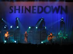 Shinedown - I WILL see them live one day! Their Live CD is EPIC.