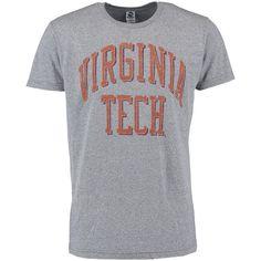 Virginia Tech Hokies New Agenda Vintage School Name Tri-Blend T-Shirt - Gray - $18.99