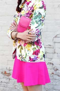 floral & neon
